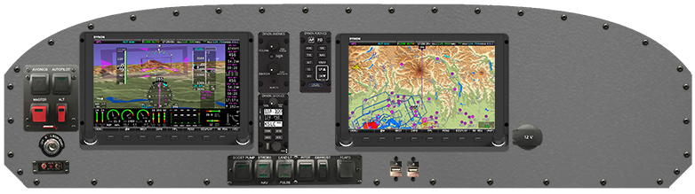 The Ranger R7's Redwood Avionics package