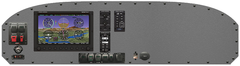 The Ranger R7's Yellowstone Avionics package