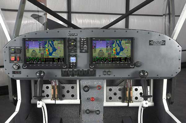 The Vashon Ranger R7 is built with 2020 compliant ADS-B out and Mode S transponder