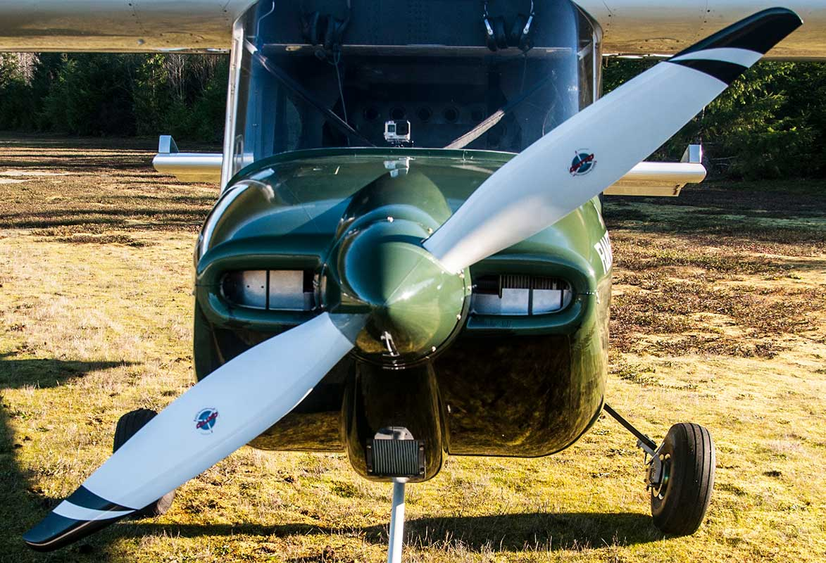 The Vashon Ranger R7 comes with a hybrid model Catto fixed-pitch propeller